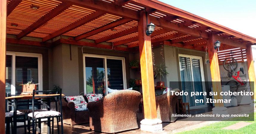 Promo for Cobertizo de madera para terraza